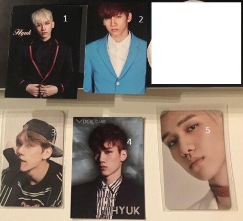 HYUK Differents cards VIXX