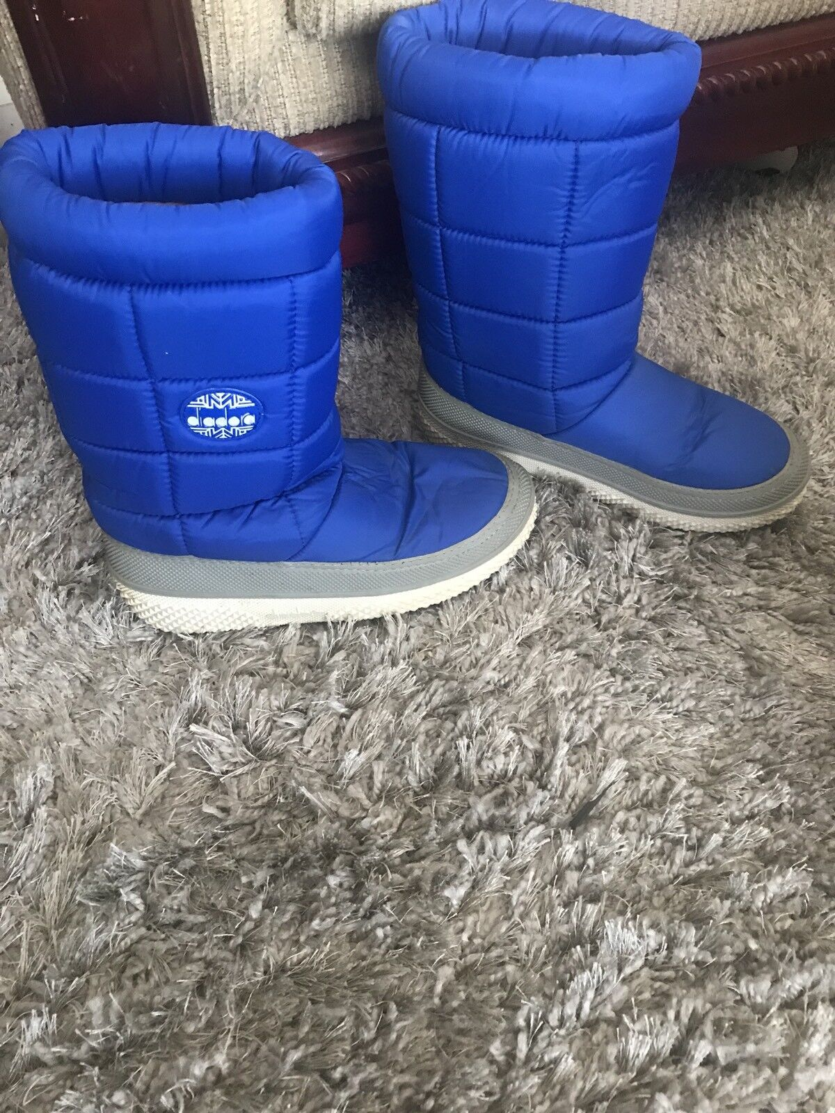 Diadora Snow Boots Blue Winter  Down Puffy 42/43