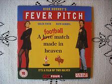 POPULAR PROMO DVD - NICK HORNBYS- FEVER PITCH   - BRITISH ROM /COM