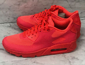 29538b7b75ef Nike Air Max 90 Hyperfuse Solar Red HYP PRM 100% Authentic Size 7