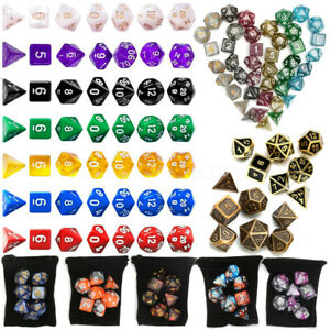 7-49-Pieces-Alliage-Polyedrique-Des-jeu-Dice-RPG-D-amp-D-JDR-Dungeons-Dragons-8