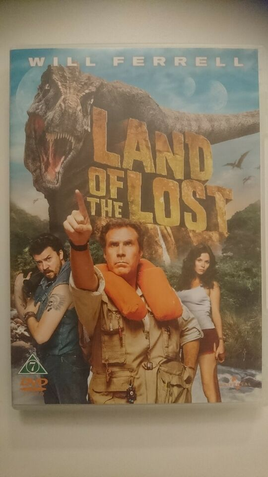 Land Of The Lost, instruktør Brad Silberling, DVD