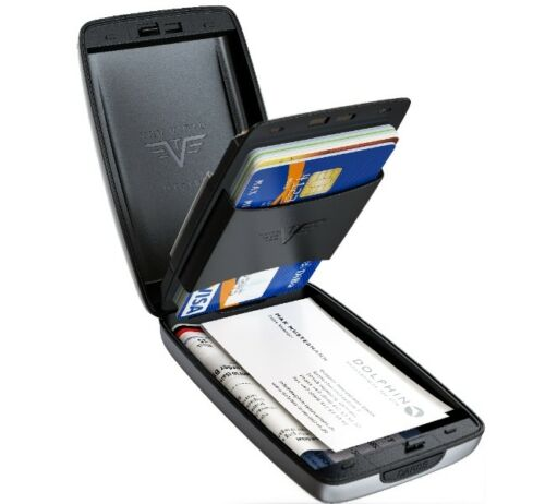 Tru Virtu Credit Card Case Purse Aluminium Oyster II Rfid