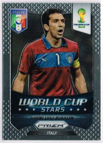 World Cup PRIZM 2014 ☆ coupe du monde étoiles ☆ FOOTBALL CARDS #1 à #50