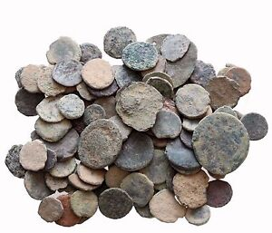 LOT OF 20  NICE ANCIENT ROMAN CULL COINS UNCLEANED /& EXTRA COINS ADDED