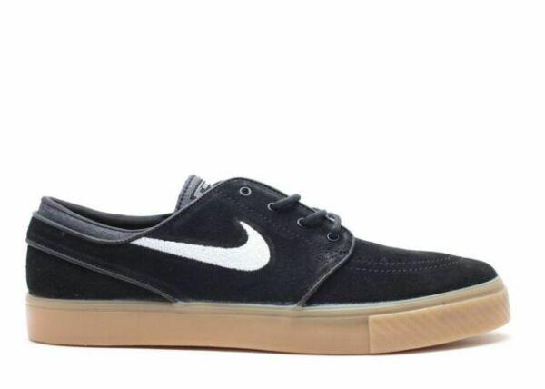 Size 9 Nike Zoom Stefan Janoski Black Gum 333824 021 For Sale Online Ebay