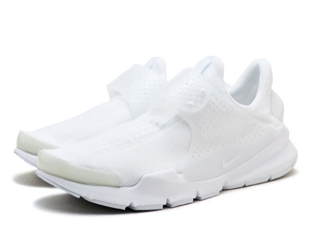 NIKE Sock DART KJCRD Triple White 44 Weiss air max 1 90 force free jordan presto