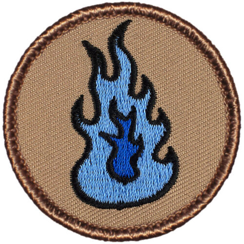 #013 Blue Flame Patrol! Awesome Boy Scout Patches