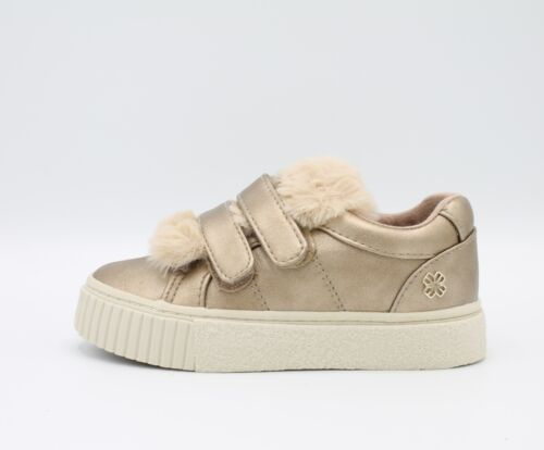 Details about  /MAYORAL 44865 46865 Girl/'s Shoes Sneakers With Fur Gold With Tears
