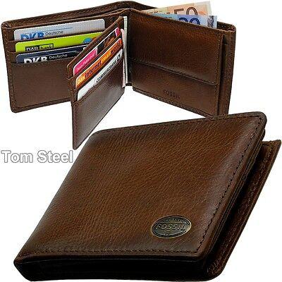 FOSSIL Herren-Geldbörse, Men's Wallet, Brieftasche, Portemonnaie, Geldbeutel NEU