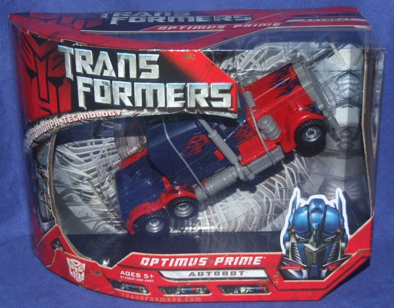 Transformers Movie 8  Voyager Class Autobot Optimus Prime New Factory Seal 2007