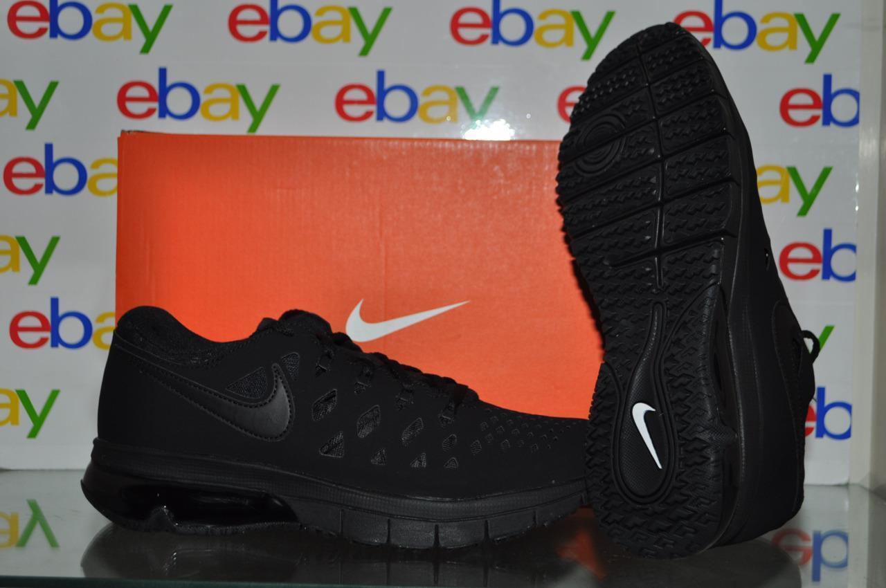 Nike air trainer 180 uomini formazione scarpe 916460 003 nero pennino