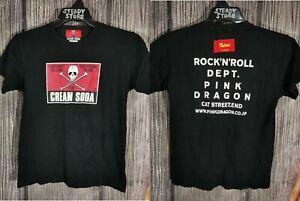 Vintage Cream Soda Skull Logo Japan Japanese Brand Punk Rock T Shirt Xs Sukajan Ebay