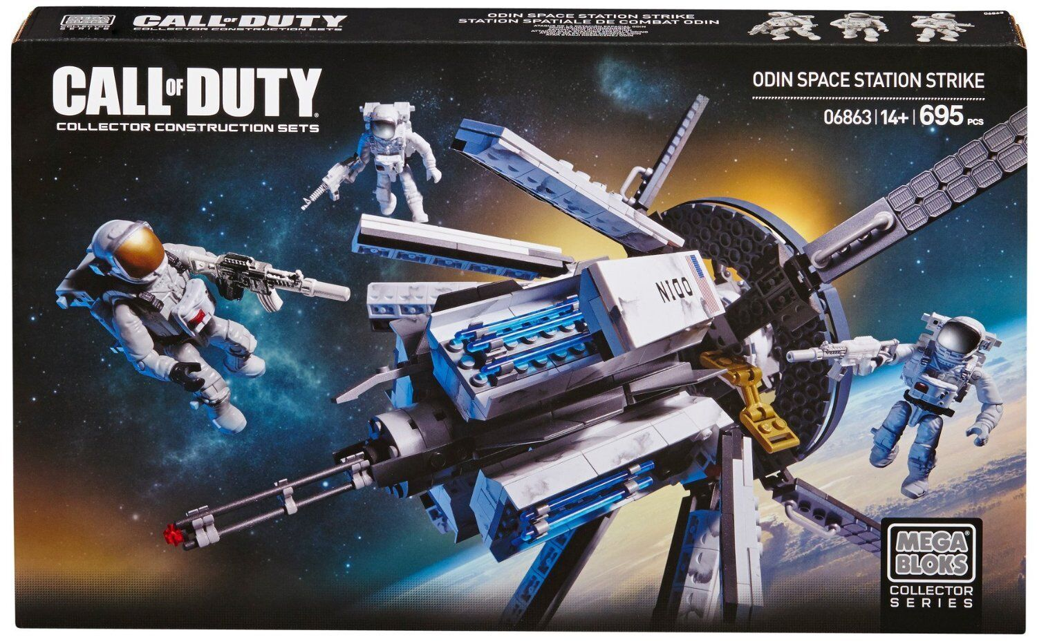 Mega Bloks Call of Duty Odin Space Station Strike 06863
