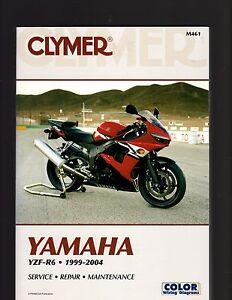 yamaha yzf r6 1999 2004 service repair maintenance manual by rh ebay com au yamaha yzf r6 2004 service manual yamaha r6 2004 repair manual