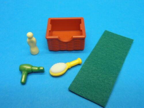 L-1661 Playmobil Zubehör für Badezimmer aus Set 5167 Stadtleben Puppenhaus