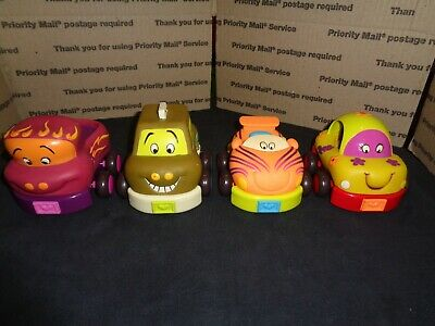 Confident Pull-back Babies Nice Quality Toys Kids Toy Cars Set Of 4 Rubber & Plastic