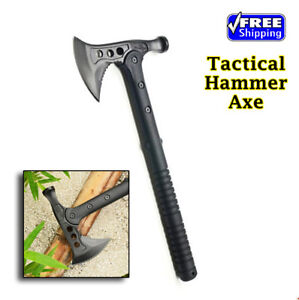 High-Carbon-Steel-Hammer-Wrench-Axe-Fire-Ice-Army-Tactical-Tomahawk-Free-Ship