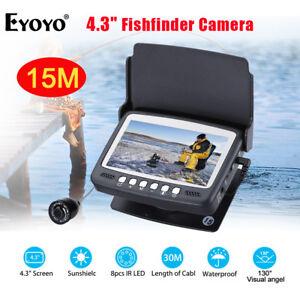 Eyoyo-HD-1000tvl-Meer-Fisch-Finder-4-3-Zoll-LCD-Monitor-Unterwasser-Fischerei-Kamera