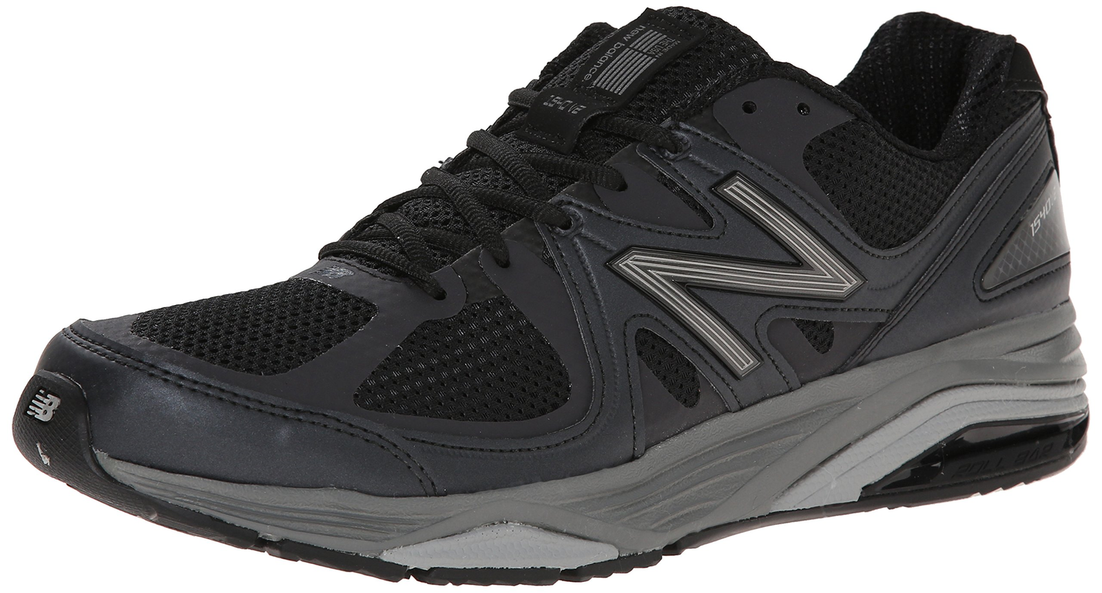 Balance Men's M1540V2 Running scarpe, nero, 7 B US