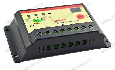 PWM Solar Charge Controller <b>30A</b>/<b>20A</b>/<b>10A</b> Battery Panel Regulator ...
