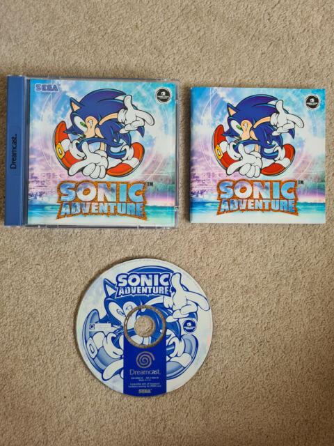 Sega Dreamcast Game SONIC ADVENTURE Boxed PAL UK