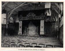 1920  --  LA SALLE DE THEATRE DU LYCEE D AMIENS   3L341