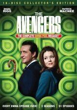 NEW The Avengers The Complete Emma Peel Megaset DVD - 2013 - Diana Rigg