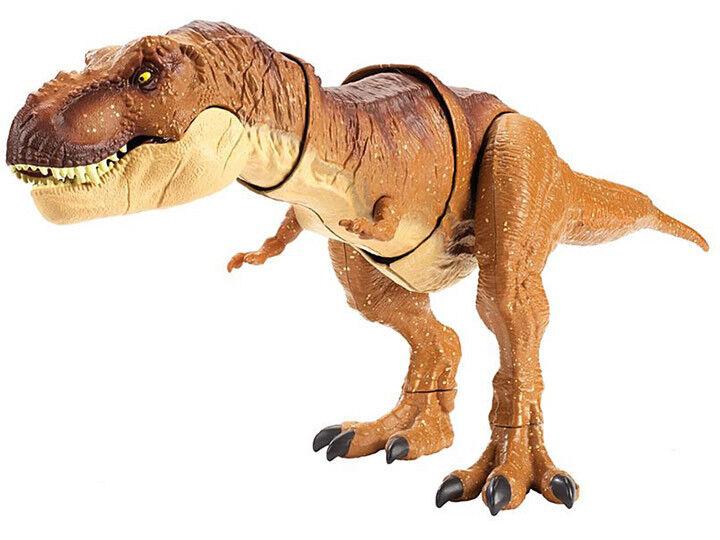 Jurassic World  Ftuttien redom Thrash'n Throw Tyrannosaurus Rex T-Rex nuovo cifra  all'ingrosso a buon mercato