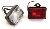 Land Rover Defender All Model > 2002 Fog & Reverse Lamp Kit Rectangular
