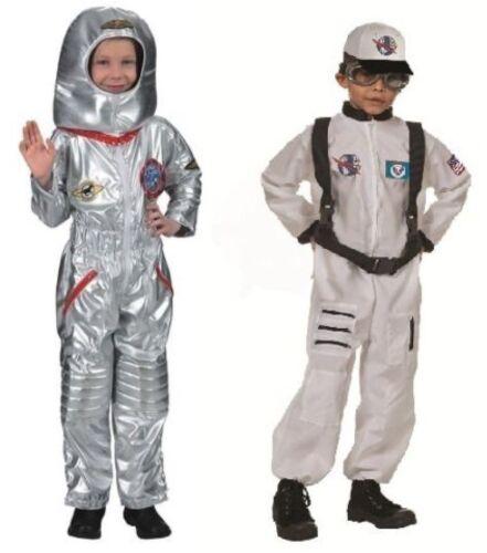 Astronaut Astronautenkostüm Raumanzug Spaceman Kostüm Uniform Weltall Helm Junge