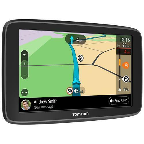 "TOMTOM Navigatore Go Basic Touchscreen 6"" Auto + 16gb Wi-Fi e Mappe a Vita In Eu"