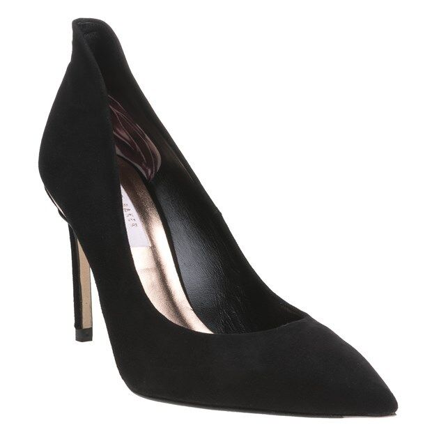 4923057eec09 Ted Baker Savio - Black Suede Womens HEELS 6 UK for sale online