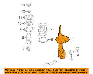 image is loading hyundai-oem-2011-sonata-front-suspension-strut-546613q711