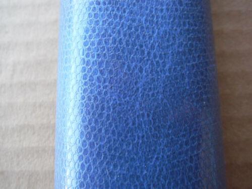 "Blue tolex snake skin look 53/"" x 36/"""
