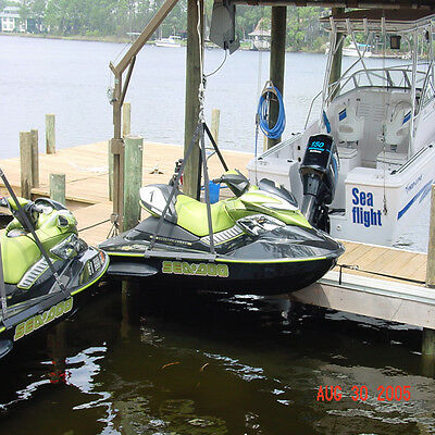 Details about Prohoists PWC Jet Ski Lift Hoist Harness Sling Lifting Straps  Seadoo Waverunner