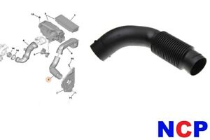 citroen xsara picasso berlingo 1 6 hdi air filter intake hose pipe 143451 ebay. Black Bedroom Furniture Sets. Home Design Ideas