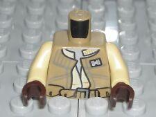 LEGO STAR WARS Dark Tan Torso Vest Rebel Army Military Trooper Minifigure 75133