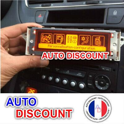 Ecran afficheur multifonction fiat Peugeot 407 307 Citroen C5