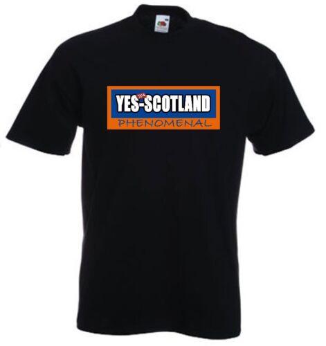 2014 YES SCOTLAND Funny Independence Scotland Iron Brew Parody T Shirt 45/%