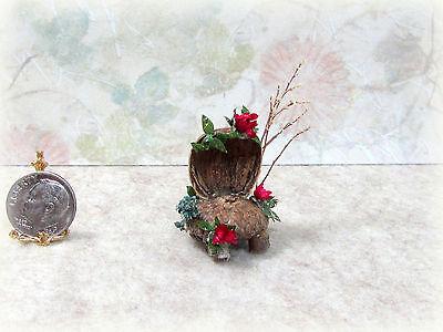 Dollhouse Miniature Handcrafted Fairy Garden Acorn Chair #4