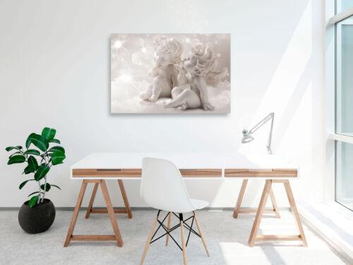ENGEL LIEBE KUSS FIGUREN Wandbilder xxl Bilder Vlies Leinwand h-C-0111-b-a