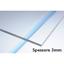 miniature 3 - Vetro sintetico plexiglass 3mm tagliato 30x20 cm 300x200 mm per taglio laser k40
