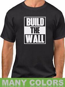 ca752d5de0c1 Build The Wall #2 T-shirt Political Tee Donald Trump President Funny ...