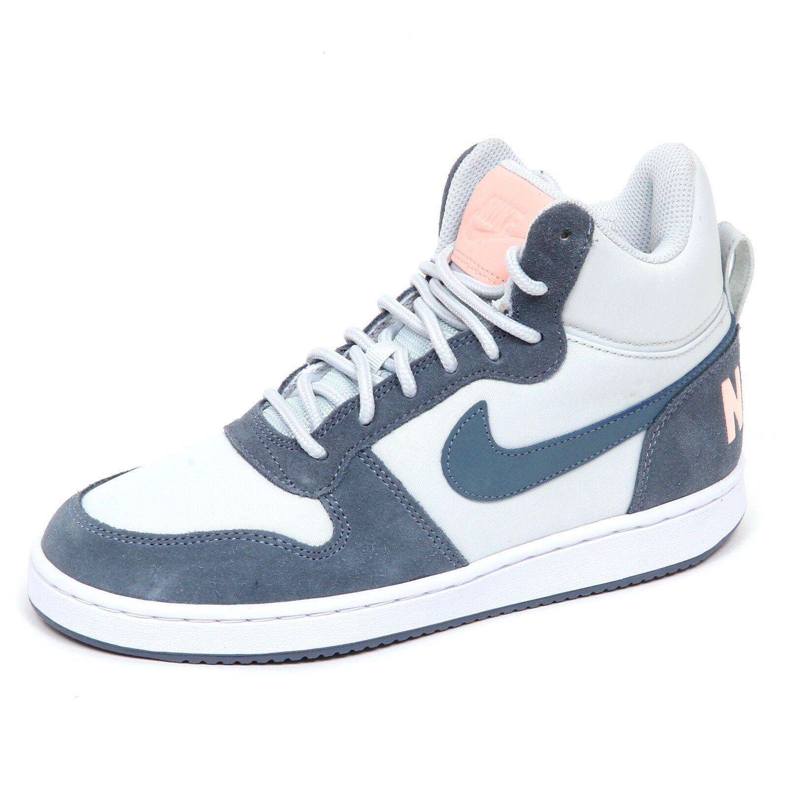 E1738 sneaker donna blu/grey scarpe NIKE scarpe blu/grey basket shoe woman 75fac3