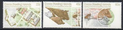 Cocos(keeling) Mnh 1981 Sg62-64 Animal Quarantine Station
