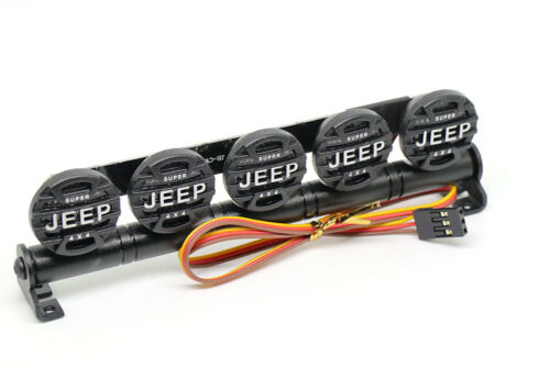 524W LED Light Bar Aluminum FOR RC Car Crawler D90 Axial SCX10 4WD JEEP 5 Mode