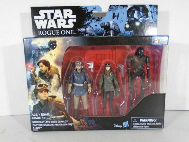 "3 pack 3.75/"" Rogue One Walmart Exclusive Action Figure Set Hasbro Star Wars"