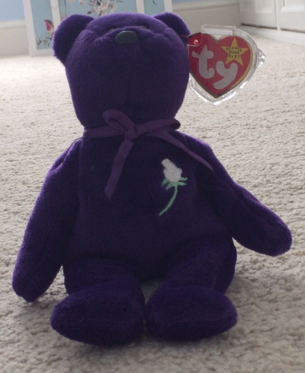 PRINCESS (1997) ORIGINAL TY BEANIE BABY (MADE IN INDONESIA)