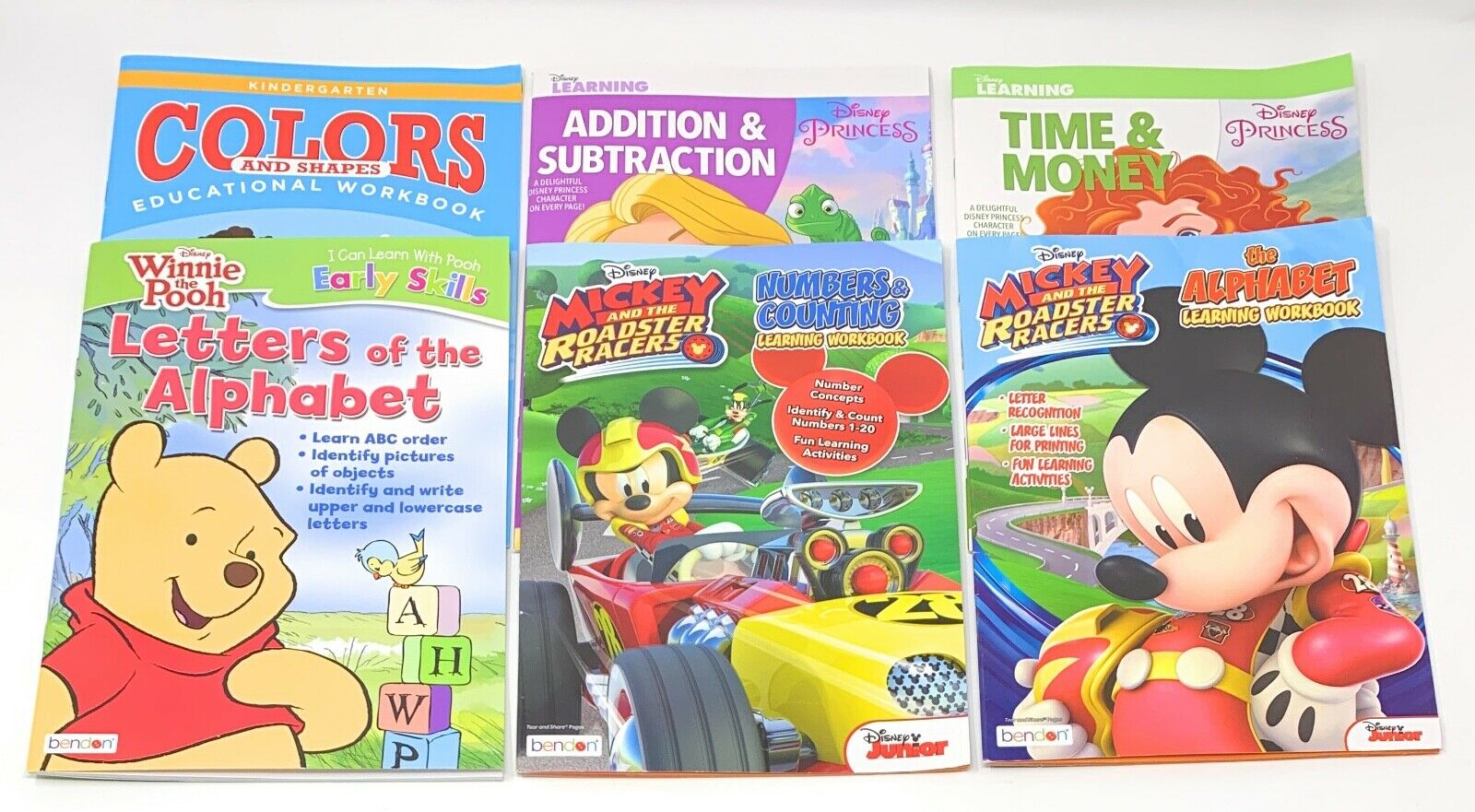 NEW Kid's Learning and Education Workbooks ~ Choose Your Favorite! 4